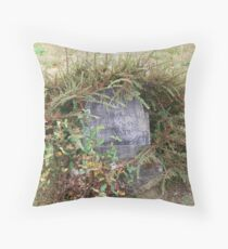 tombstone circa 1895 Throw Pillow