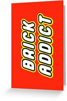 BRICK ADDICT by Customize My Minifig