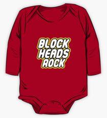 BLOCK HEADS ROCK One Piece - Long Sleeve