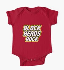 BLOCK HEADS ROCK One Piece - Short Sleeve
