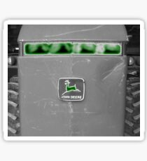 Farm Tractor John Deere Photograph Design Sticker