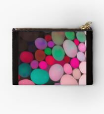 rainbow pebbles Studio Pouch