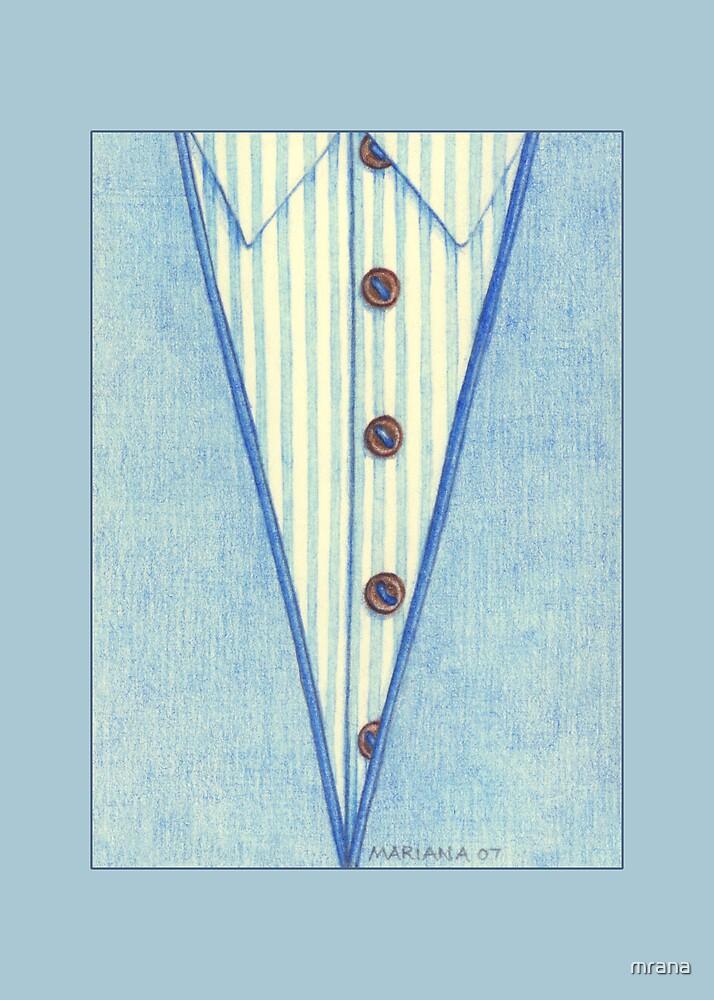 Blue Shirt by Mariana Musa