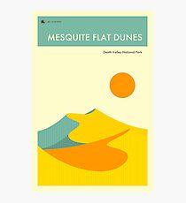 MESQUITE FLAT DUNES Photographic Print