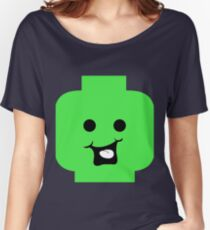 Cheeky Minifig Head Women's Relaxed Fit T-Shirt