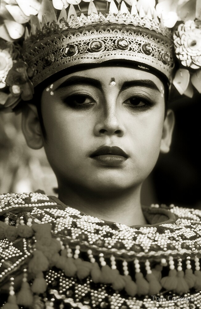 balinese boy by Tom  Cockrem
