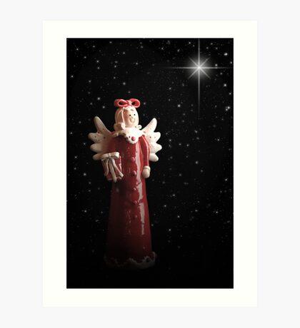 Mary Christmas Art Print