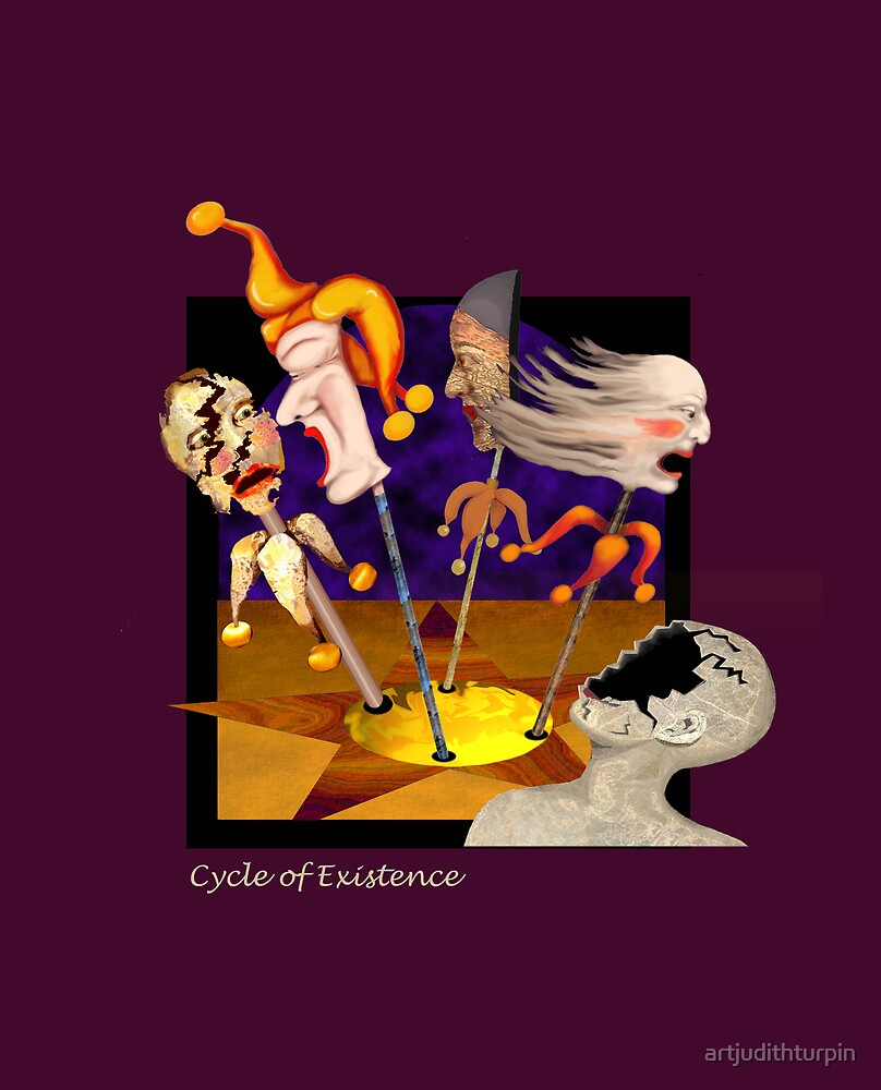 CYCLE OF EXISTENCE by artjudithturpin