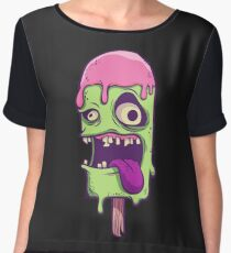 Monster Ice Cream Chiffon Top