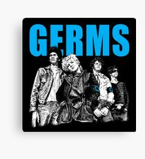 The Germs Canvas Print