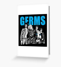 The Germs Greeting Card