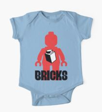 Minifig with Brick, Customize My Minifig One Piece - Short Sleeve