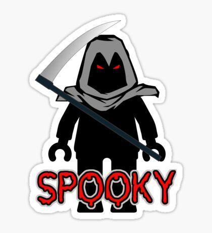 Spooky Grim Reaper Minifig, 'Customize My Minifig' Sticker