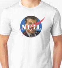 NASA Logo Neil Degrasse Tyson Unisex T-Shirt