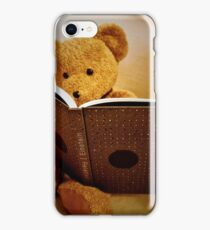Clever Teddy iPhone Case/Skin