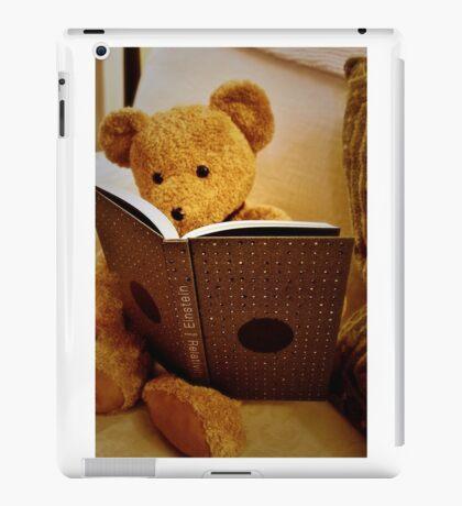Clever Teddy iPad Case/Skin