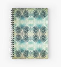 Vintage Kind Of Love Pattern Spiral Notebook