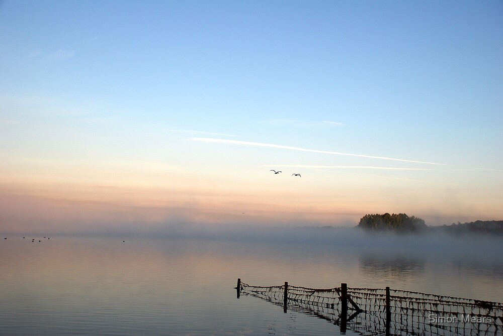 Dawn over Rutland Water by Simon Mears