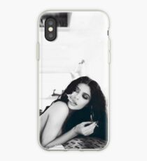 Kylie Jenner Monochrome Chilling iPhone Case