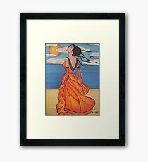 The Beach 3 Framed Print