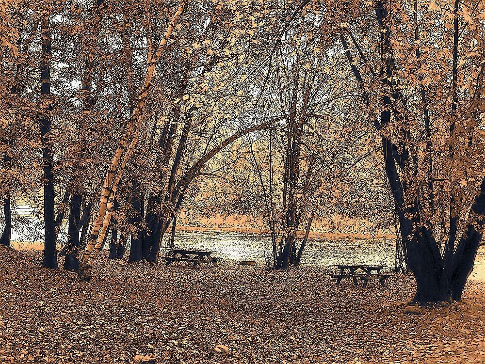 Autumn Picnic by Gene Cyr