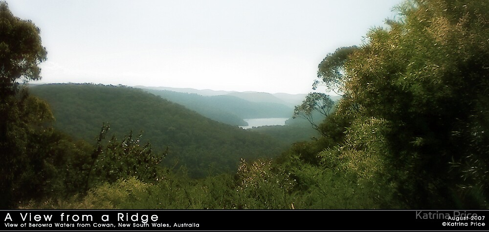 A View from a Ridge by Katrina Price