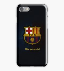 barcelona best logo iPhone Case/Skin