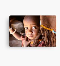 SAMBURU CHILD Canvas Print