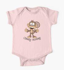 Cheeky Monkey One Piece - Short Sleeve
