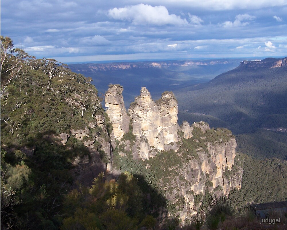 Blue Mountains by judygal