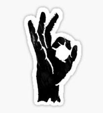 Perfect (Black & White) Sticker