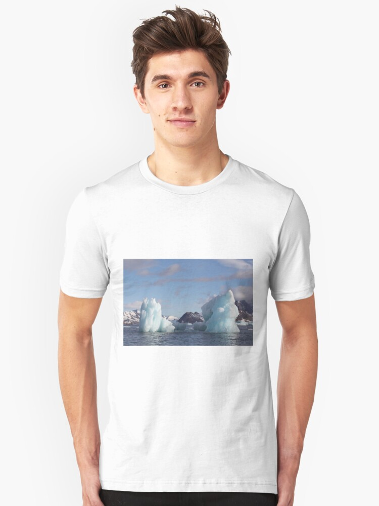 Alternate view of Blue Ice Peaks Slim Fit T-Shirt