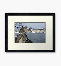 Zurich Lady  Framed Print