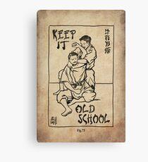 OLD SCHOOL Canvas Print