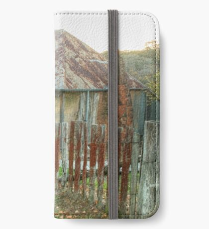 Beyer's Cottage - Hill End NSW Australia  iPhone Wallet