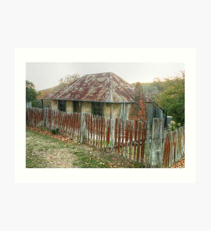 Beyer's Cottage - Hill End NSW Australia  Art Print