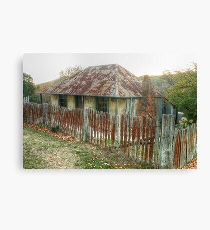 Beyer's Cottage - Hill End NSW Australia  Canvas Print
