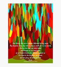 The Lord's Prayer For Children Photographic Print