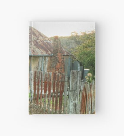 Beyer's Cottage - Hill End NSW Australia  Hardcover Journal