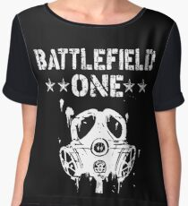 Battlefield one Gas Mask Women's Chiffon Top