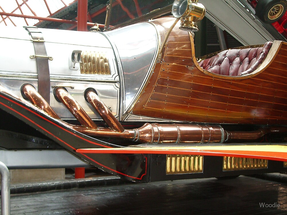 Chitty Chitty Bang Bang Exhausts by Woodie