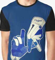 LA - Los Angeles Dodgers Graphic T-Shirt