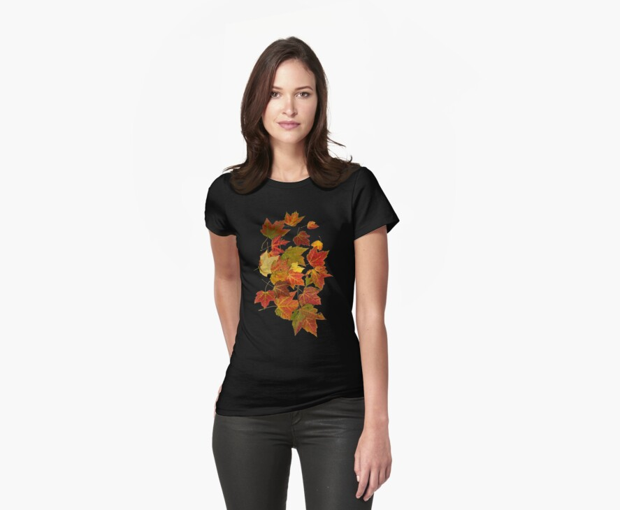 TSHIRT Autumn Leaves by Dominic Melfi