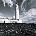 St Mary's Lighthouse by David  Parkin