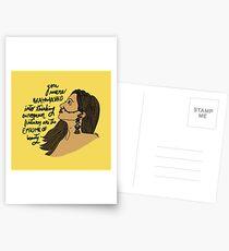 GEHIRNGEWASCHEN Postkarten
