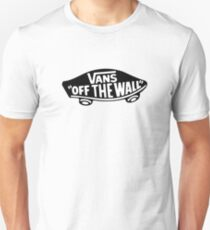 Black Vans of The Wall Unisex T-Shirt