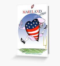 We Love Maryland, tony fernandes Greeting Card