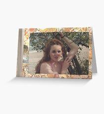 Karen at the Beach Greeting Card