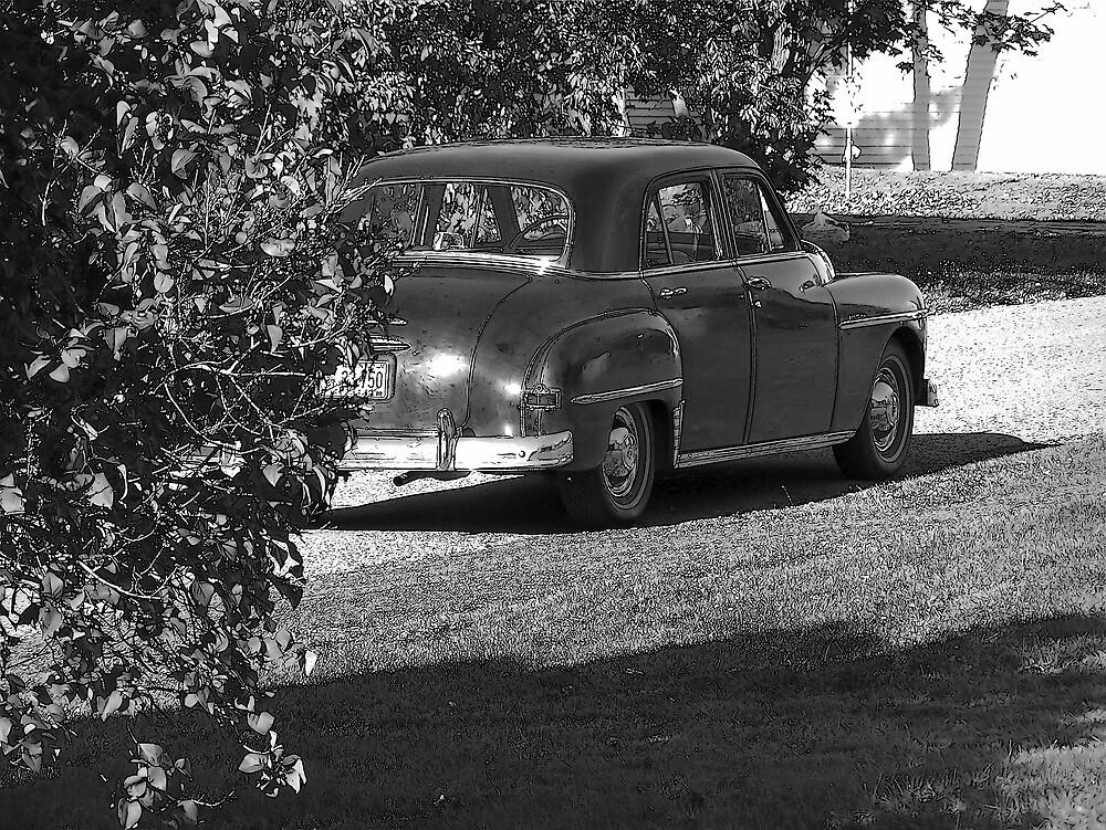 Old Black Car by Gene Cyr
