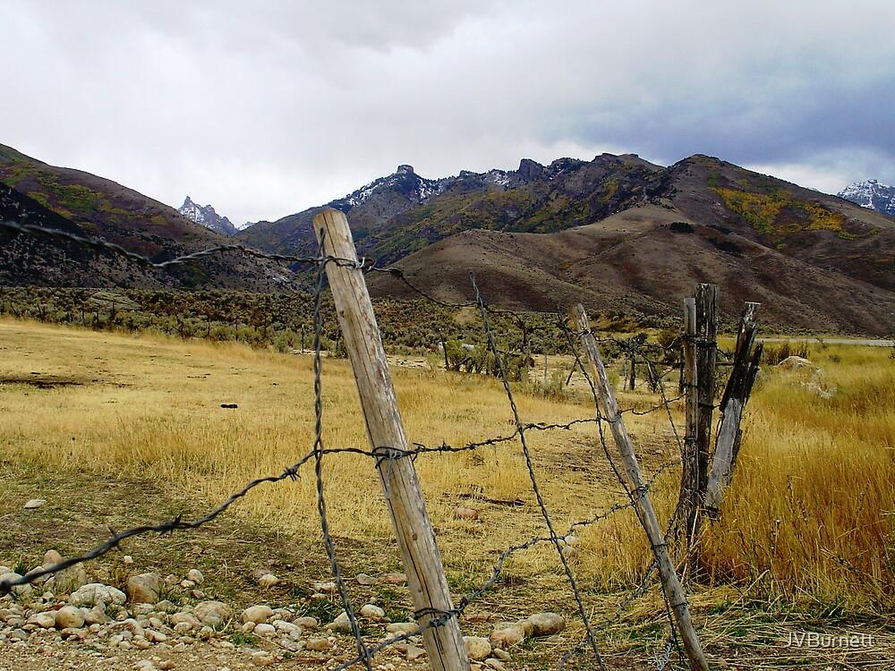 Scout's Fence II by JVBurnett